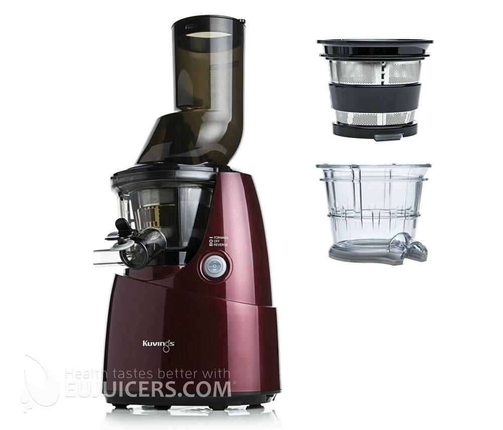 Slow Juicer Romania : Kuvings whole slow juicer B6000R Exclusive vermelho - EUJUICERS.COM
